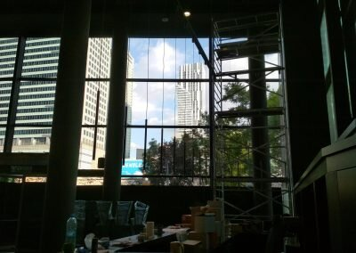 Oswietlenie dekoracyjne restauracja Prim Cut