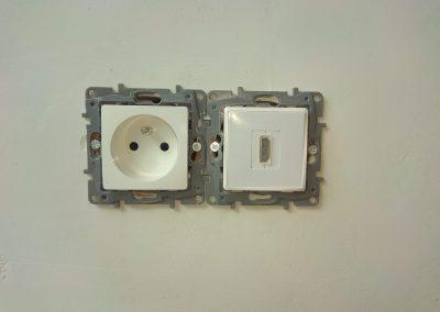 Montaż gniazda HDMI