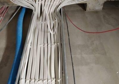 Montaz koryt kablowych